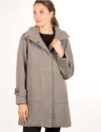 Herringbone coat by Saki