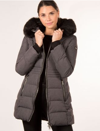 Quilted puffer jacket by Saki