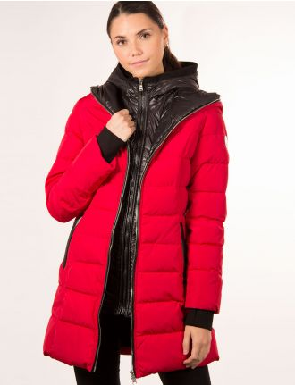 Quilted puffer jacket by Sicily