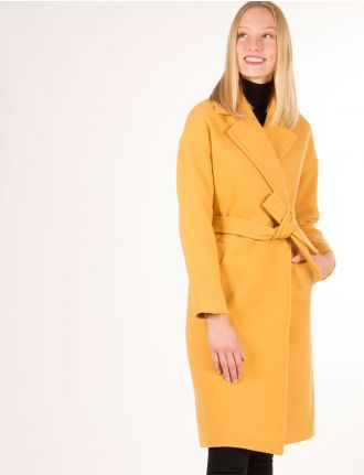 Belted wrap coat by Vero Moda