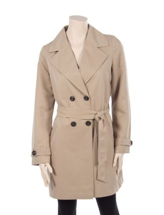 Belted trench coat by Vero Moda