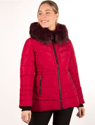 Vegan puffer coat by Novelti