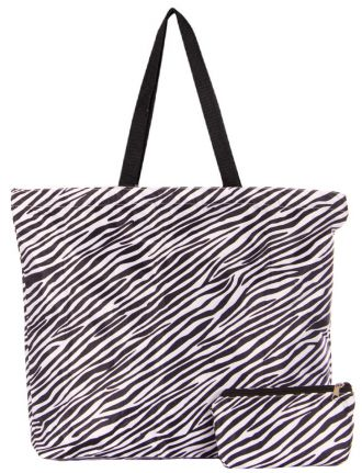 Zebra printed bag by Froccella