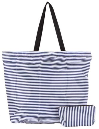 Striped printed bag by Froccella