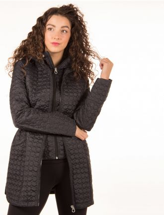 Animal printed coat by Marcona