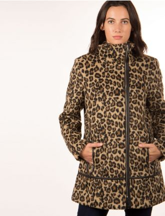 Leopard coat by Marcona
