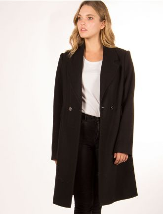 Wool coat by Portrait