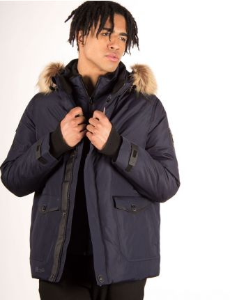 Down coat by Point Zero