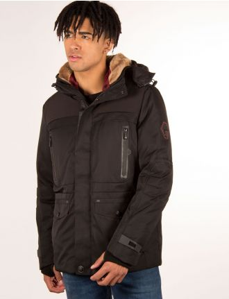 Down-fill parka by Point Zero
