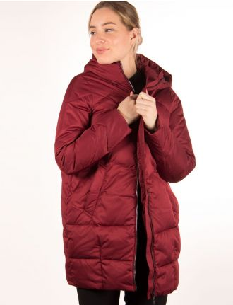 Cocoon shaped coat by Frandsen