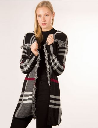 Mohair knit cardigan by Froccella