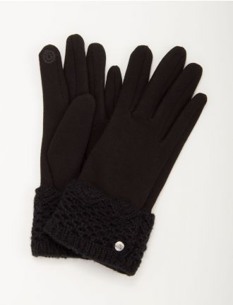 Knit glove with I-Touch by Nicci