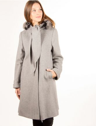 Herringbone coat by Styla