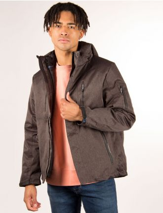 Heathered 3 in 1 jacket by Private Member