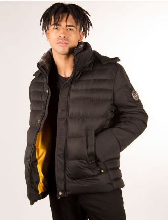 Quilted puffer jacket by Oxygen