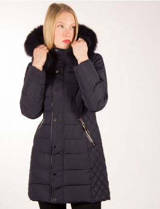 Multi-quilted coat by Froccella