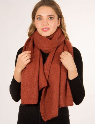 Long knit scarf by Only