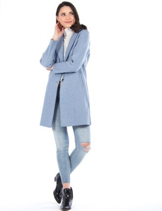 Long trendy coat by Only
