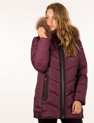 Genuine down quilted jacket by Frandsen
