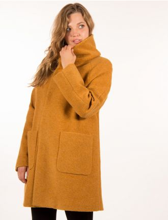 Wool coat by Herluf