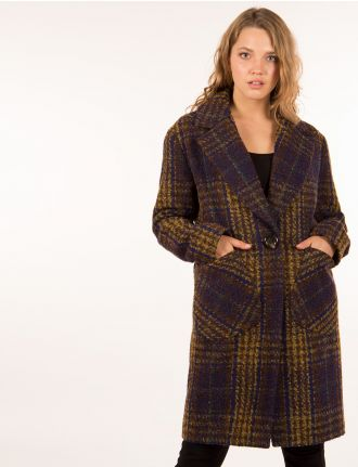 Wool tweed coat by Kensie