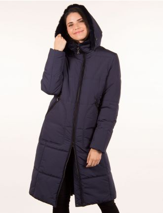 Long zero down coat by Styla