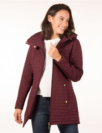 Light quilted jacket by Weatherproof