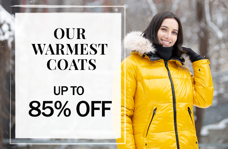 our warmest coats